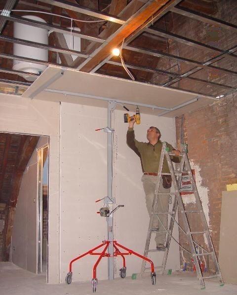 Aménagement De Combles Plafond Suspendu