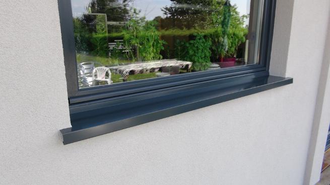 Isolation fa ades isolation de murs par l 39 ext rieur - Tablette de fenetre exterieur alu ...