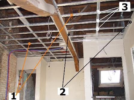 Am nagement de combles plafond suspendu - Faux plafond resille metallique ...